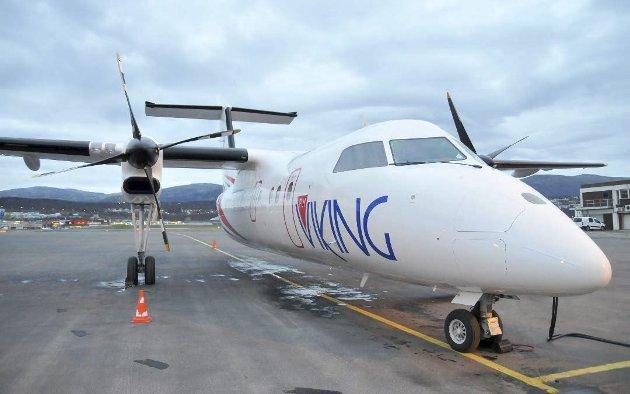 Innstiller driften: Fredag ble det kjent at FlyViking innstiller driften fra 12. januar. Gründer og investor Ola Giæver lanserte blant  annet ruter til og fra Svolvær. Disse kom aldri i gang.