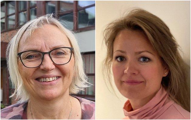 Greta Klevstad (folkehelsekoordinator) og Eva Kibsgaard Nordberg (kommuneoverlege) i Vestvågøy kommune.
