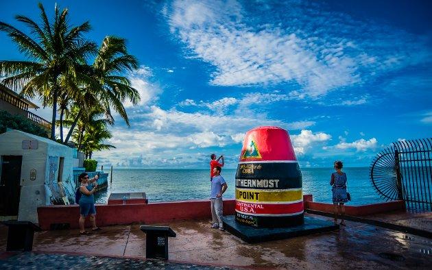 DET TAPTE PARADIS: Som i resten av verden holder turistene seg langt unna Key West i Florida om dagen.