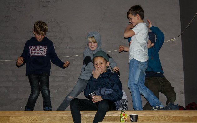 Dansere fra Studio Nille.
