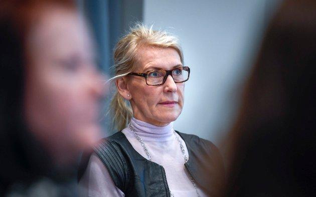 Sykehusdirektør Hulda Gunnlaugsdóttir.