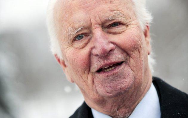 Thorvald Stoltenberg gikk bort fredag 13. juli. Han var i en årrekke en viktig norsk diplomat og profilert politiker for Arbeiderpartiet. ARKIVFOTO: Lise Åserud / NTB scanpix