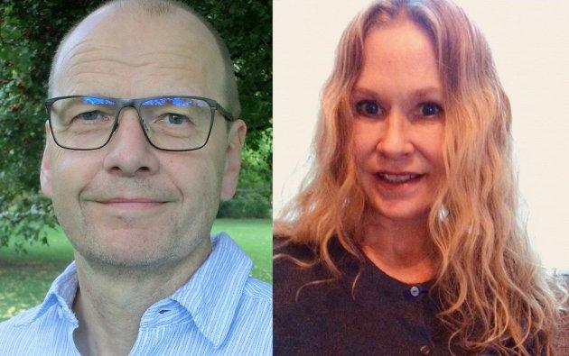 ETTERLYSER STATISTIKK: Torben Wisborg og Tone H Rønning.