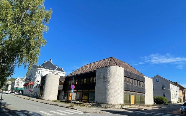Tre-fire slike bygningskolosser som den foreslåtte i Håkon den godes gate 31 (Brunbanken), er nok til å kvele småbyen Levanger, skriver Aase Marie Folkvord.