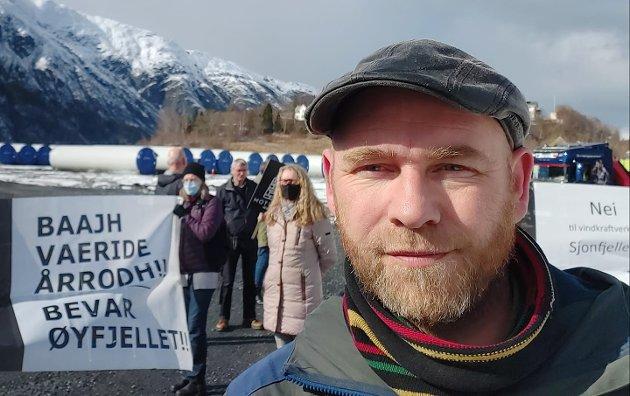 Geir Jørgensen, 1.-kandidat Rødt Nordland