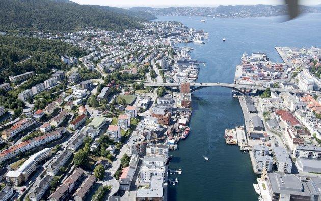 Ved å innføre lavblokkregimet i Bergen kommer vi til å få en kjedeligere by, skriver Trond Tystad i dette innlegget. FOTO:  Arne Ristesund