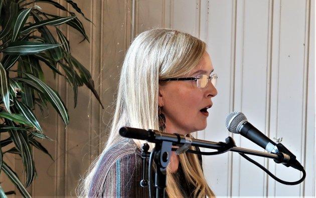 EMINENT PIANIST: Alltid stødige Christin Eriksen trakterte tangentene.