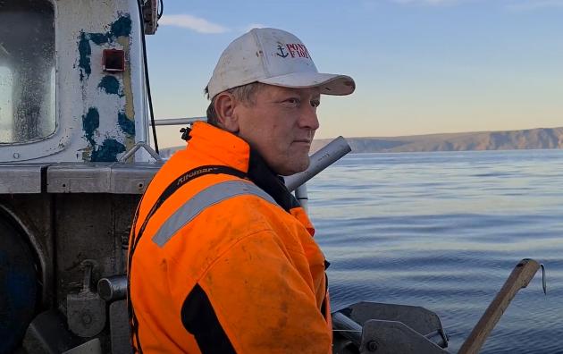 Tor Mikkola (49), fisker og 1. kandidat til sametinget