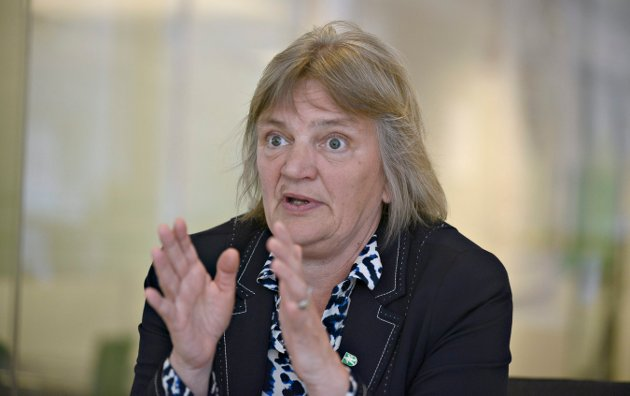 INNSENDEREN: Wenche Grinderud er både rådmann og fungerende helse- og omsorgssjef i Kongsberg kommune.