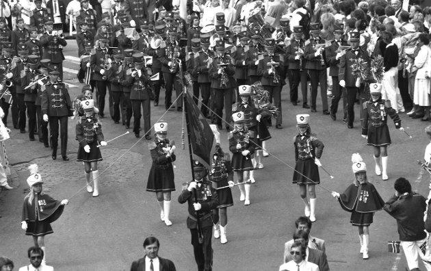 Mossekråkene skolekorps, 1988