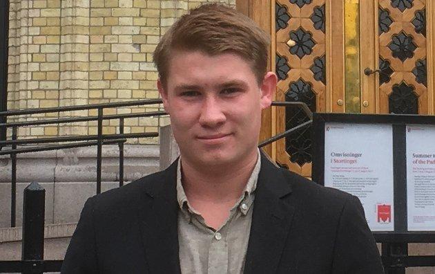 Ole Martin Johansen. Studieleder, Rygge FrP Økonomiansvarlig, Østfold FpU