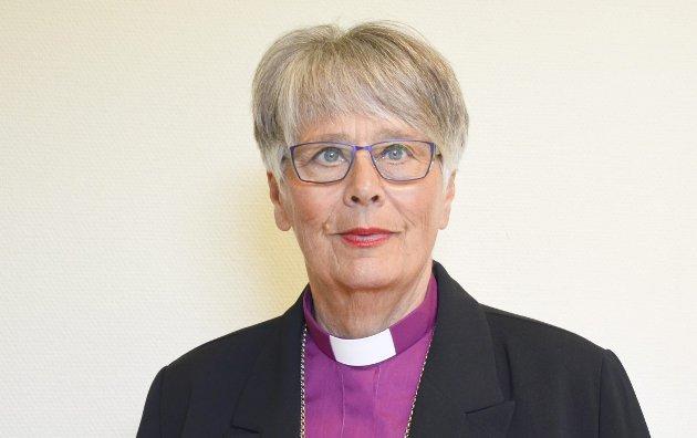 TOK ET OPPGJØR: Biskop Solveig Fiske i Hamar bispedømme la ut en kronikk på Facebook 21. juli hvor hun tar et oppgjør med hatmeldingene som mange av de overlevende etter 22. juli-terroren har mottatt på sosiale medier. Arkivfoto