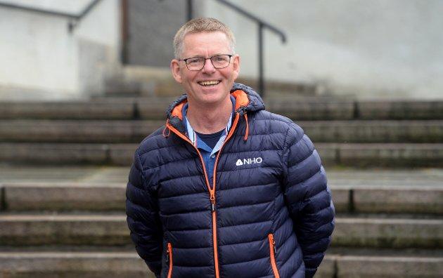 GLAD: Direktør NHO Innlandet, Jon Kristiansen er glad for gjenåpningen