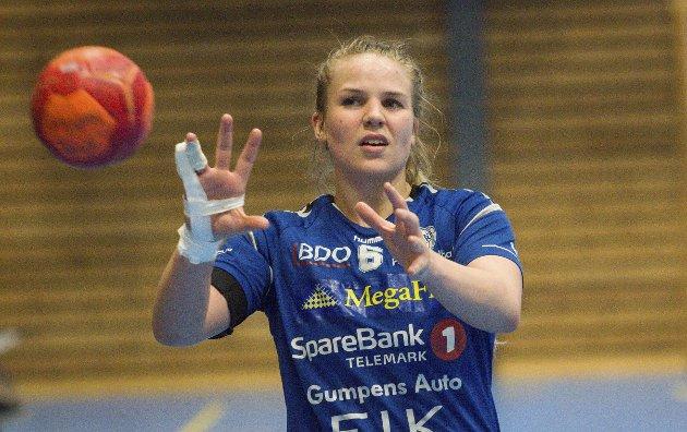 Sentral: Anette Sundfær Johnsen har vært blant toppscorerne i de to seneste kampene for Pors og blir sentral nok en gang i helga.