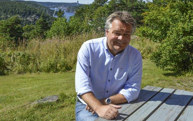 REAGERER: Roger Meyer ble mildt sagt overrasket da han leste overskriften «HHK begjært konkurs» i HA. Arkivfoto: Kristian Bjørneby