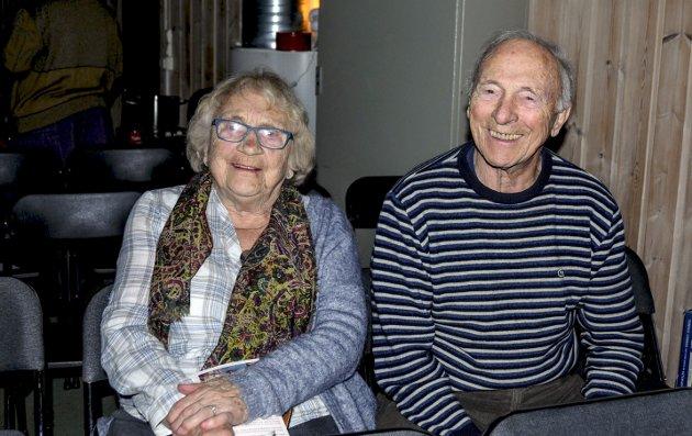 Søsken: Tove Bothner og Gunnar Jarandsen måtte under dramatiske omstendigheter flykte til Sverige under andre verdenskrig. Bildet ble tatt i desember 2016.