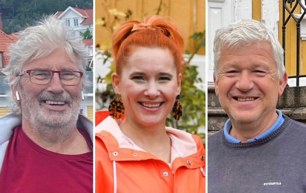 F.v.: Øyvind Olsen (SV), Charlotte Therkelsen (Rødt) og Jone Blikra (Ap).