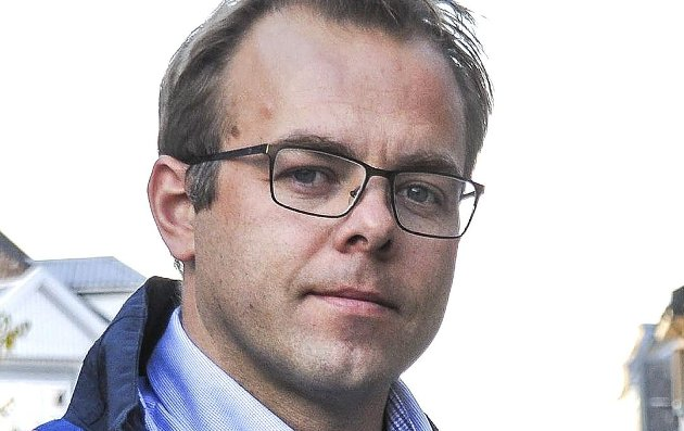 Knut Olav Farbrot, lokallagsleder i Utdanningsforbundet Sarpsborg. (Foto: Mari Buckholm)