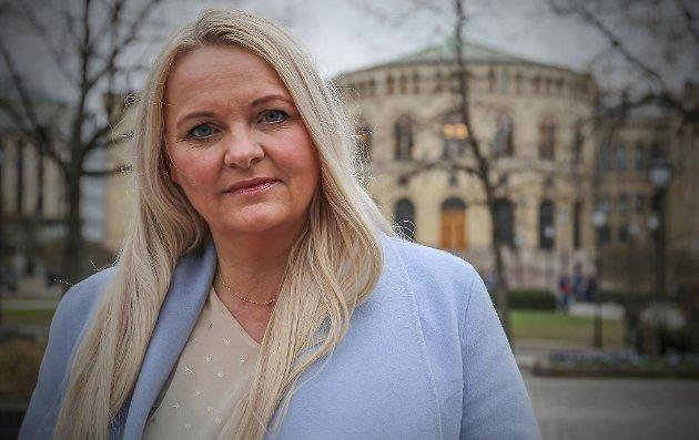 Stortingsrepresentant Åslaug Sem-Jacobsen (Sp)