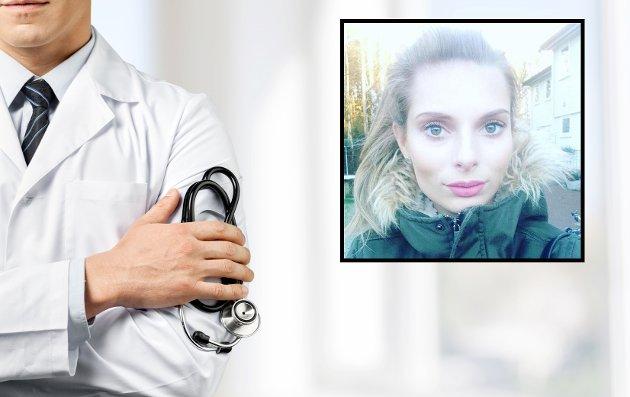 MÅTTE SLUTTE SOM LÆRER: Christine Paulsrud bor på Nøtterøy. Hun har vært syk siden hun var barn, og har nå sluttet å jobbe. Nå ber hun leger ta seg tid til å høre på pasientene sine.