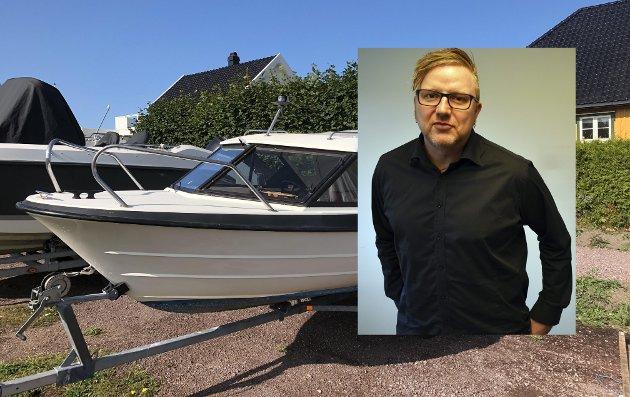 PÅ EVIG JAKT: Tom Erik Rønningen er journalist i Tønsbergs Blad og innrømmer at han bruker mye tid på finn.no.