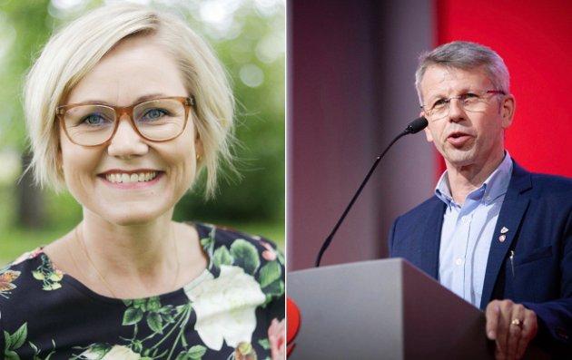 Gjennom de siste åtte år har sittende regjering gjennomført en rekke reformer, som hver for seg ikke trenger å være dramatiske, men summen av dem har forsterket sentraliseringa og tappet distriktene for ressurser og kompetanse, skriver Ingvild Kjerkol og Terje Sørvik (Ap).