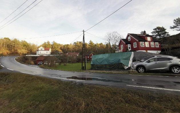 Borøy: I bakkant av dette området planlegges det nå å oppføre mellom sju og ti boliger. Jens J. Langballe reagerer på omfanget av utbygging i flere kystnære områder.