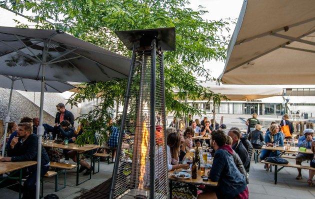 Hagen pop up-restaurant åpnet i Borggården på fredag. Her er bilder fra åpningen.