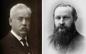 Sir Frederick Mott (t.v.) og Sir Henry Maudsley er forvist til historiens skammekrok.