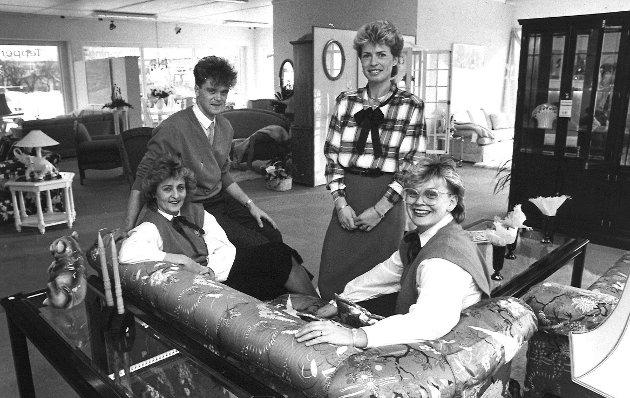 Ny møbelforretning: Møbler og Interiør, juli 1985.