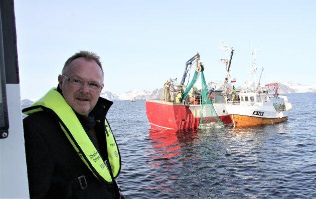 Fiskeriminister Per Sandberg