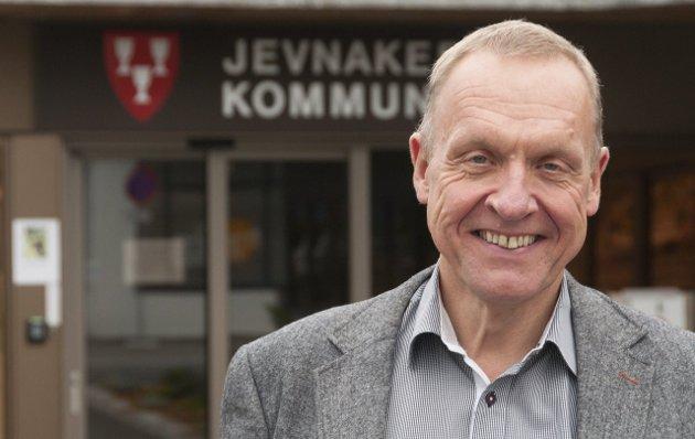 Jevnakerordfører Lars Magnussen mener Jevnaker ikke har noe annet valg enn å godta bom.