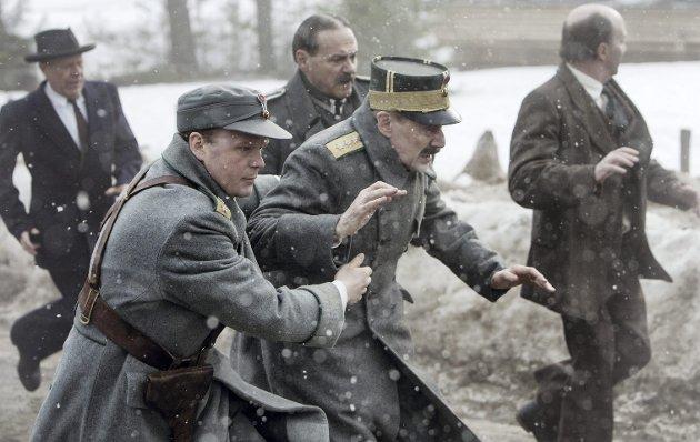 STRIDSDYKTIG: «Kongens nei» er et eminent historisk epos om dagene før, under og etter den tyske invasjonen 9. april 1940. FOTO: Nordisk film