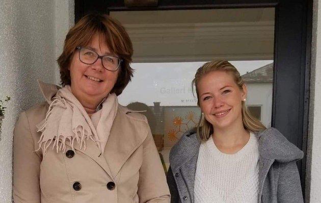 Anne Cecilie Holm og Ingrid Svee