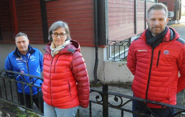 STILLER SEG BAK: Lederne i bygdas tre store idrettslag støtter idrettsrådets svar til SVs Miriam Begnum, som mener skolebøker er viktigere enn skiløyper.