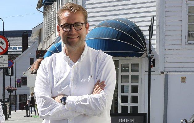 Jacob Nødseth er gruppeleiar for Venstre i Kinn kommunestyre