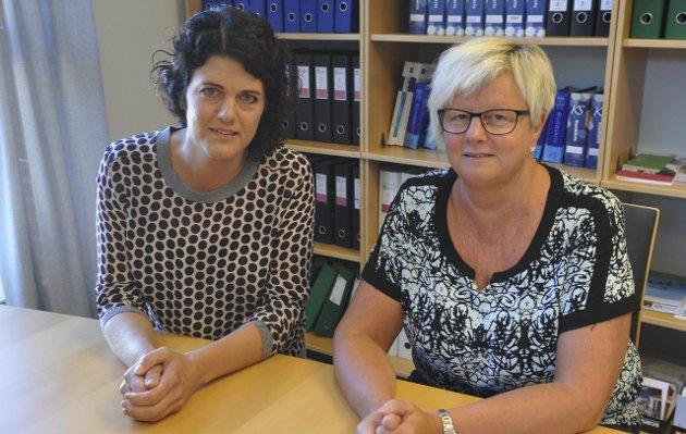 KVALITET: Utdanningsforbundet med nestleder Rannveig Theisen og Toril van Dijk vil ha fokus på kvalitet. Foto: Kristin Stavik Moshagen