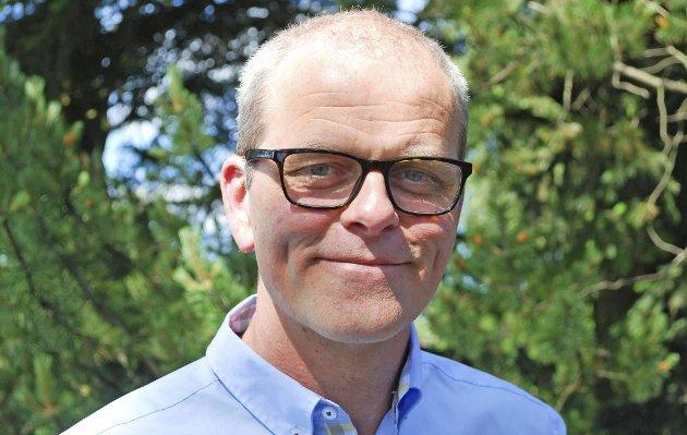 Jon Sanness Andersen er ordførerkandidat for Færder Arbeiderparti.