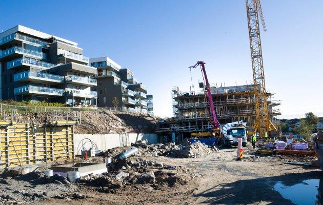 Fikk avtale: Bryggerifjellet er ett av de ti prosjektene Skatt øst har undersøkt etter at Fredrikstad kommune inngikk avtale med utbygger om anleggsbidrag.