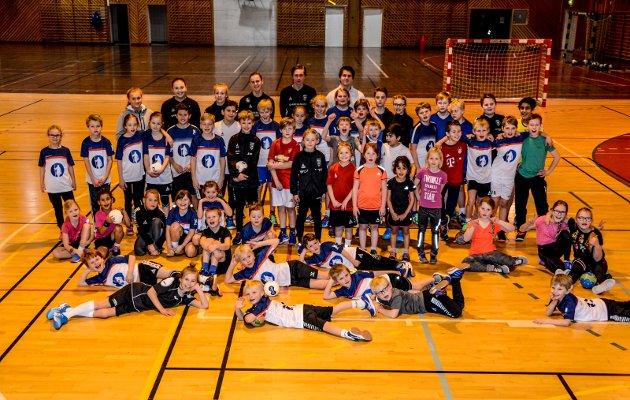 Håndballskole vinterferien 2017.