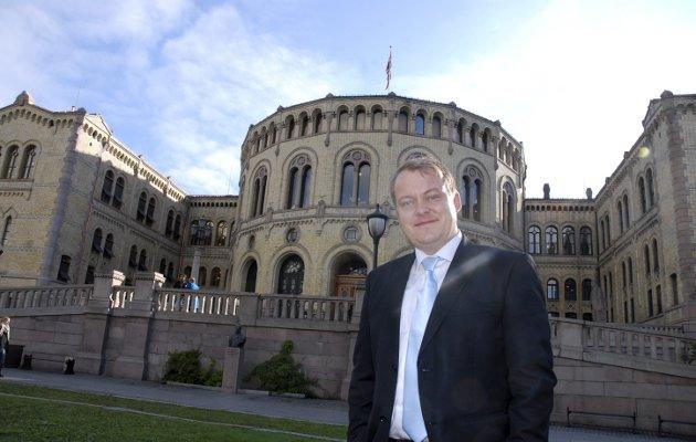 La flyene fly fra Rygge, mener Erlend Wiborg Stortingsrepresentant, FrP