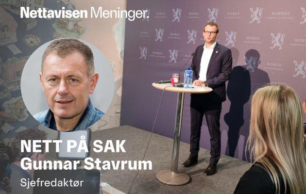 ANGANG: Kjell Ingolf Ropstad trekker seg som både statsråd og leder for Kristelig Folkeparti.
