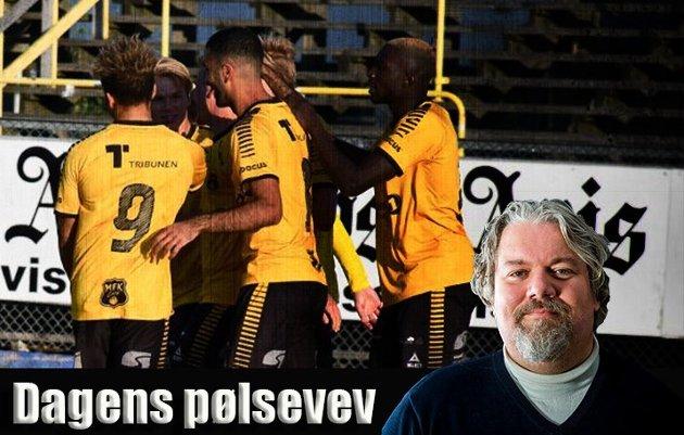 Skal vi tro Erik Johansen, får Moss FK lite å juble for søndag.