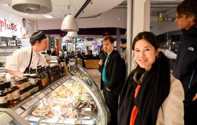 Skadelig: Lan Marie Berg og MDGs politikk er katastrofe for Finnmark. Her besøker hun Alta.