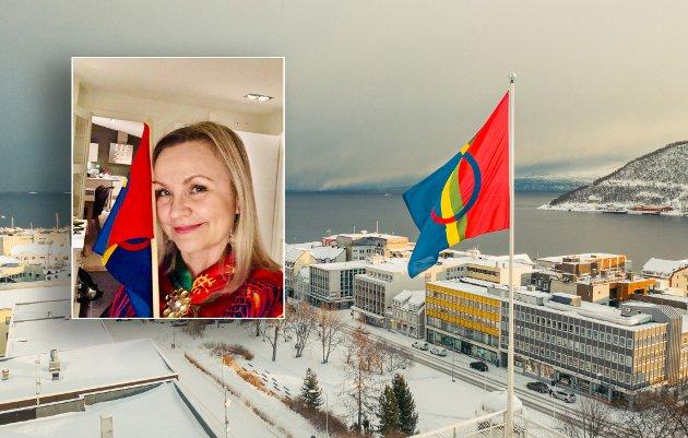 SI BURES: Hege Anita Karlsen Bakken oppfordrer harstadværingene til å bruke de samiske ordene de kan 6. februar.