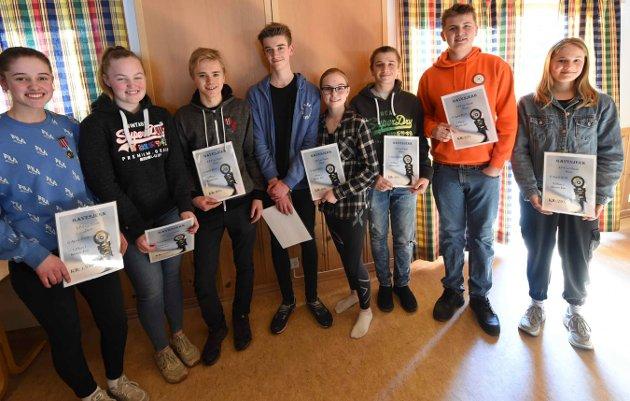 Juniorklassens finalister