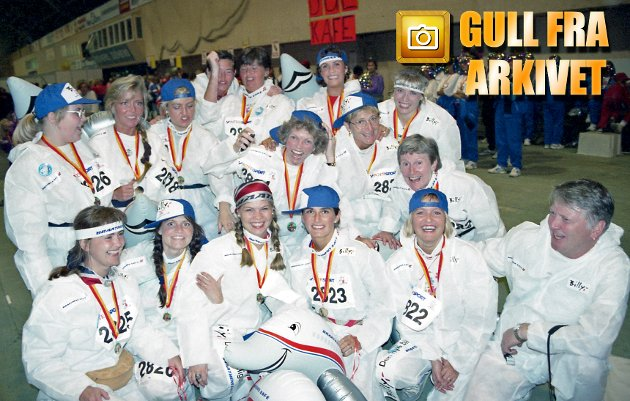 1994-utgaven av Tromsøjenta ble en fargerik løpsfest med 5010 jenter på startstreken.
