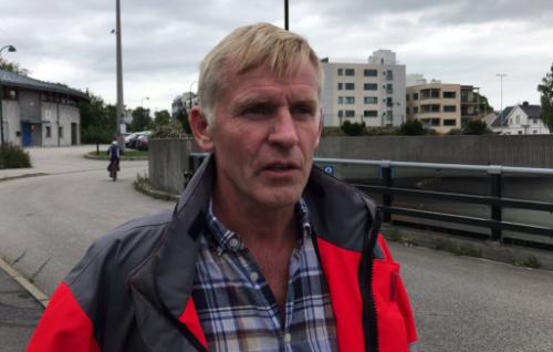 OPPKLARING: Stig Berg-Thomassen er prosjektleder Tunneloppgradering vest.