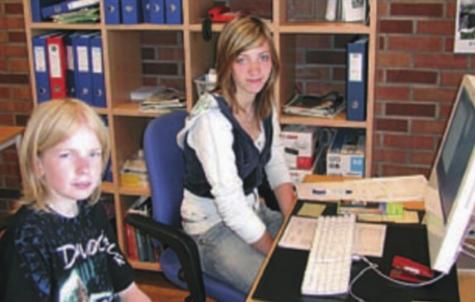 Sommeren 2006 hadde Martin Nygård og Elin Doeland arbeidsuke i Strandbuen.