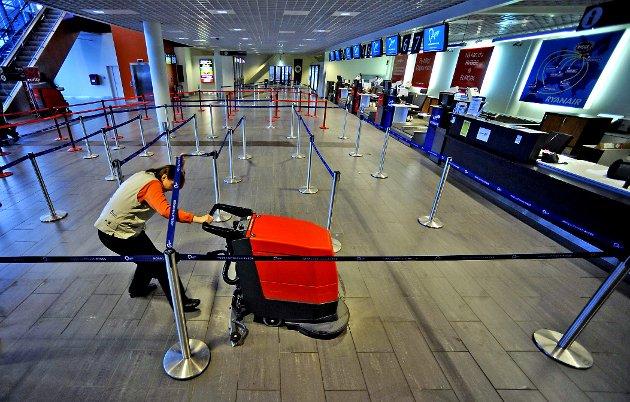 Vaskes fortsatt: Rygge Sivile Lufthavn havnet i det rikspolitiske nyhetsbildet i forrige uke, da det ble kjent at Ryanair legger ytterligere press på å få reversert beslutningen om å innføre flypassasjeravgiften.